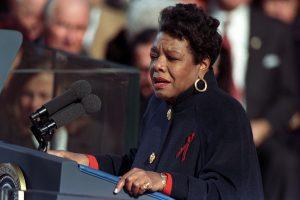 Maya Angelou (credit William J. Clinton Presidential Library)
