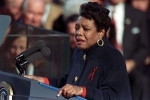 Maya Angelou (credit William J. Clinton Presidential Library)