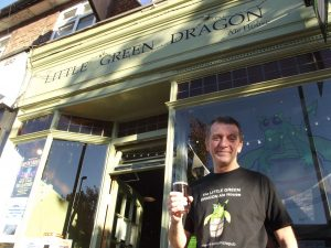 Richard Reeve, The Little Green Dragon publican