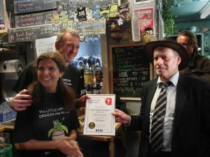 Best pub award