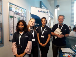 Healthwatch Enfield volunteers