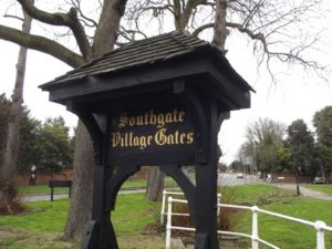 Southgate Village Gates