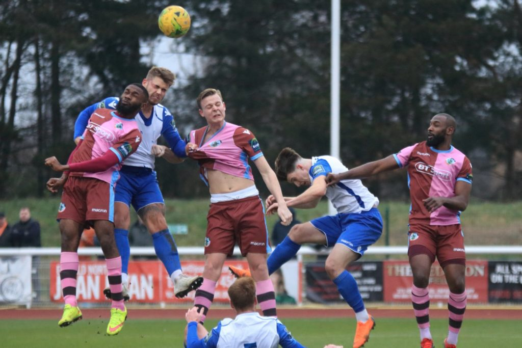Enfield Town v Corinthian Casuals
