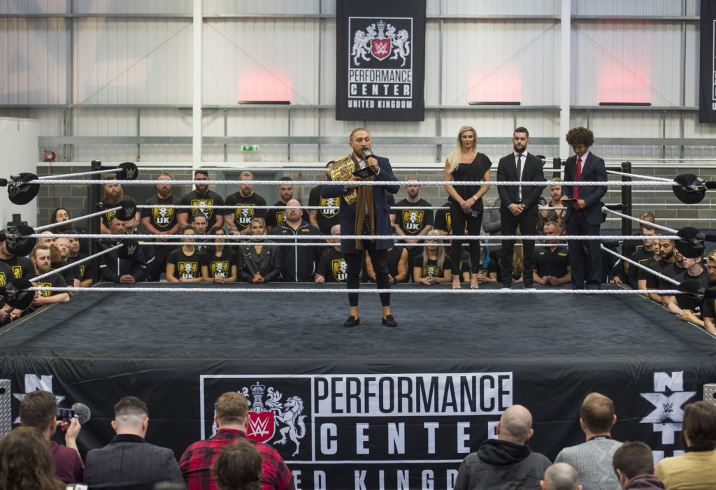 NXT UK champion Pete Dunne