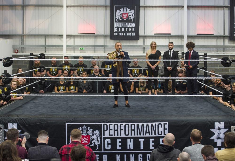 NXT UK champion Pete Dunne