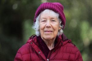 Myra Schneider in Arnos Park
