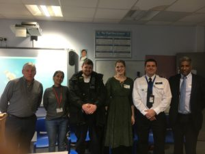 A recent police training event led by Inspector Paul Dwyer