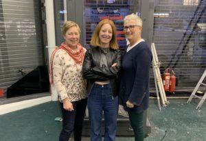 Stitch! founders Karen Mautner, Suzanne Kelly and Carol Balfe