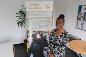 Angela Greaves is the new programme manager at Enfield Connections