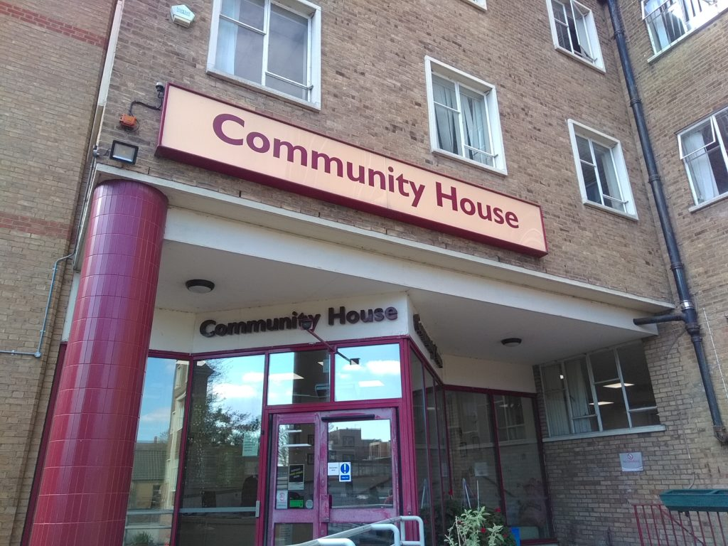 Community House in Fore Street, Edmonton