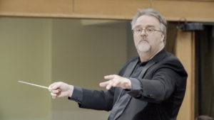 Adoramus Choir's music director David Hooke