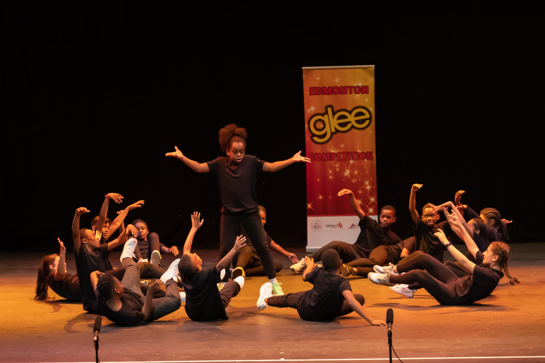 Children performing at Edmonton Glee (credit Paul Seaby)