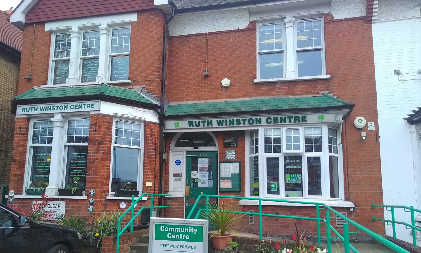 Ruth Winston Centre in Green Lanes was first opened in 1959