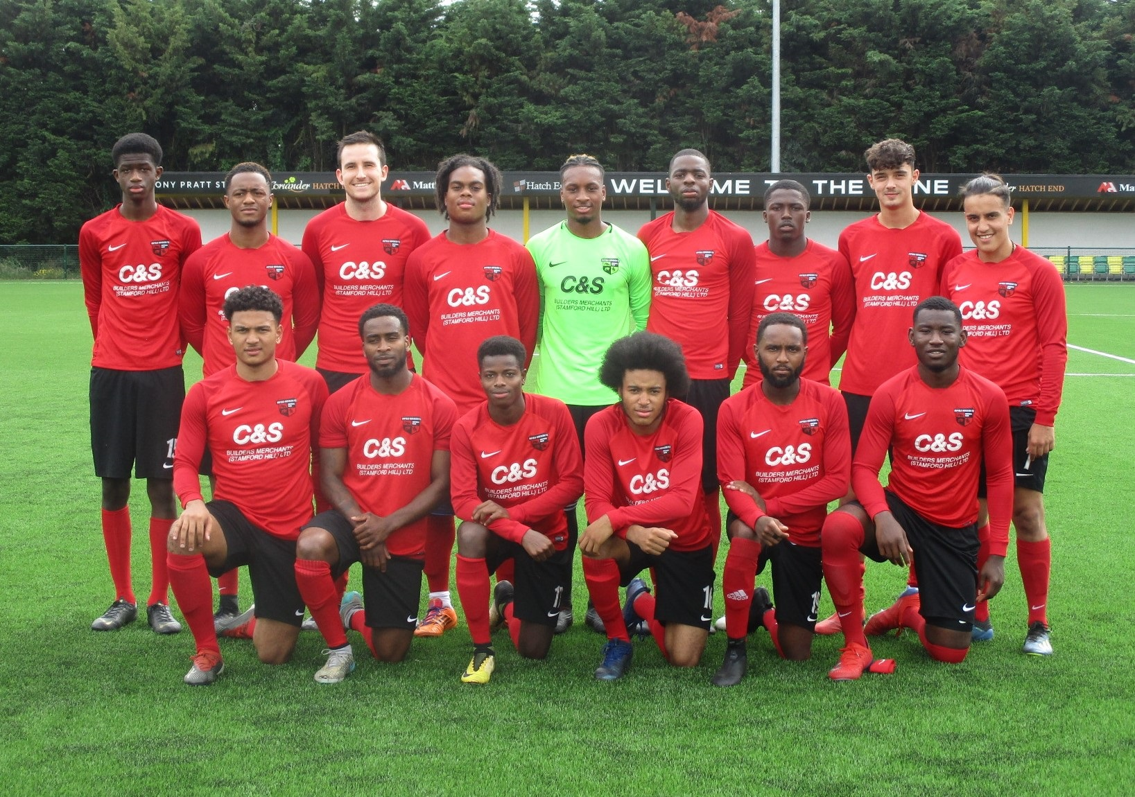 Enfield Borough FC were only formed three years ago