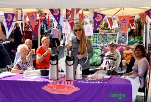 'Natter Mornings' take place at Enfield Market every Thursday from 10am