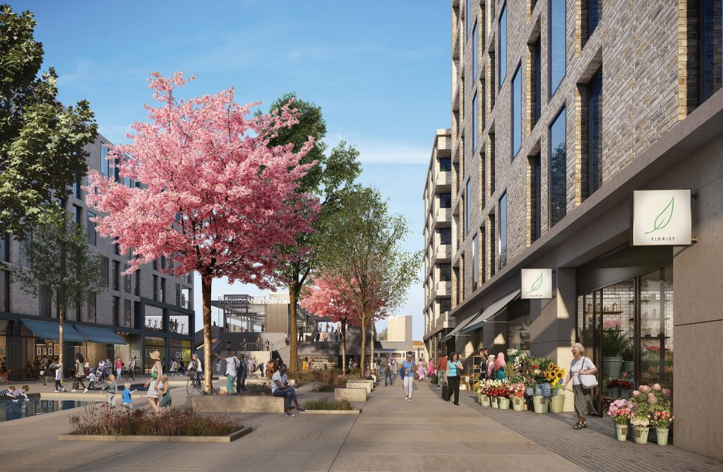 How the 'Meridian One' development at Willoughby Lane might look