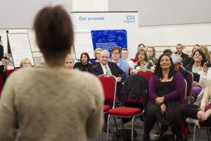 An NHS England consultation event (credit NHS England)