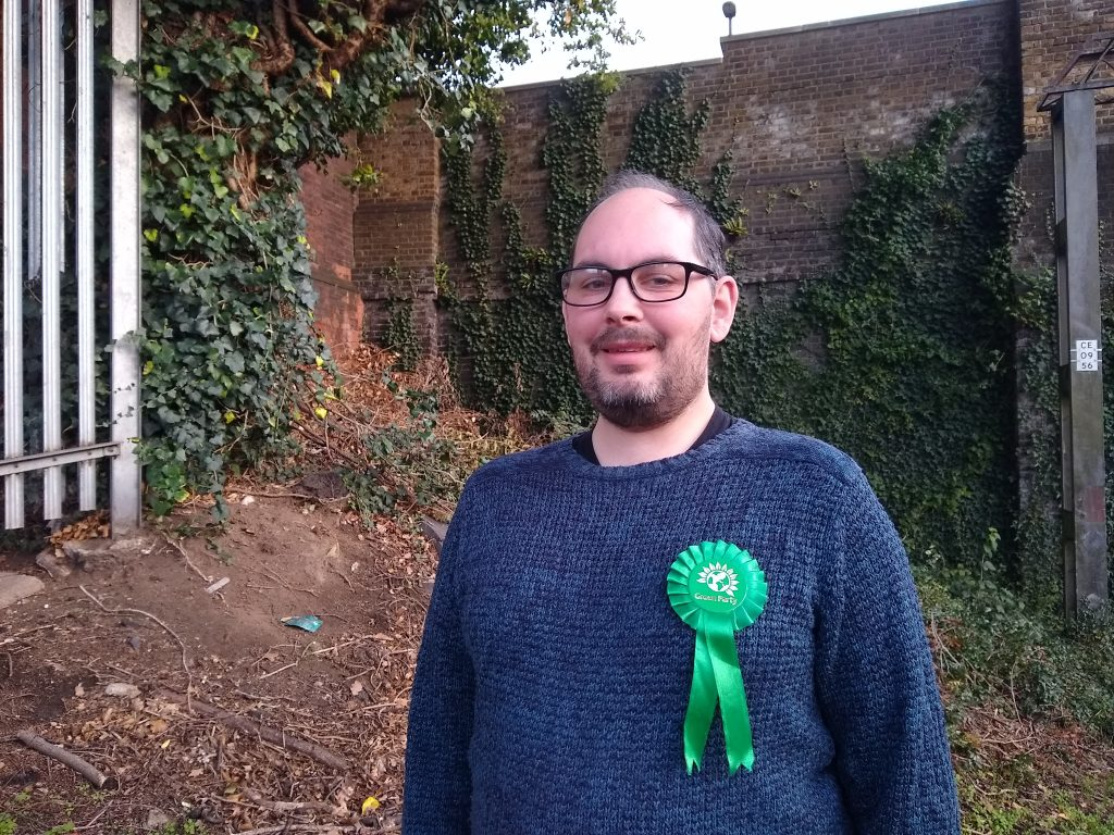 Benjamin Maydon, Green Party