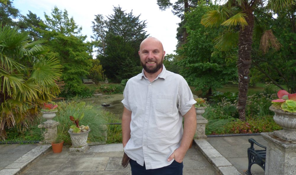 Richard Harmes is head gardener at Myddelton House Gardens, which is free to visit and open all year round