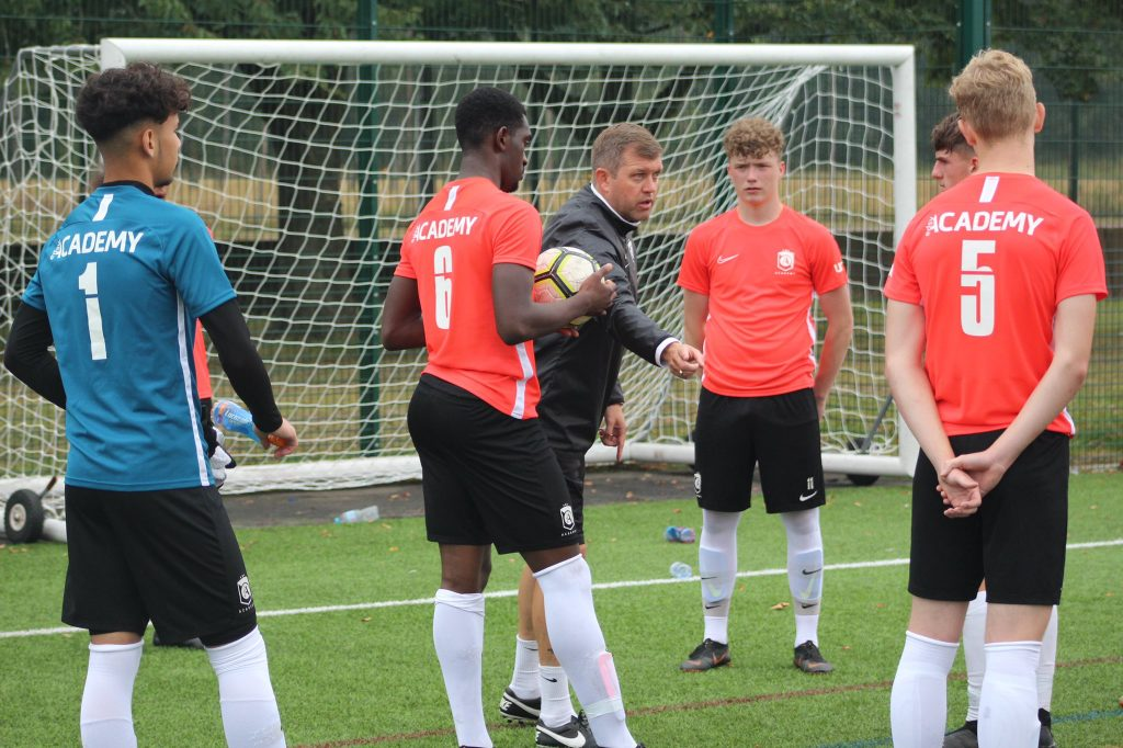 Hertfordshire-based EDSV Academy has formed a new partnership with Enfield Town FC (credit EDSV Academy)