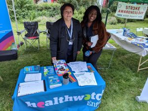 Healthwatch Enfield stall