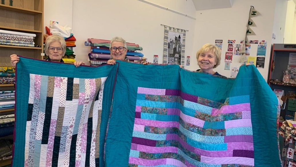 At Stitch! you can learn how to make a quilt, among many other craft skills