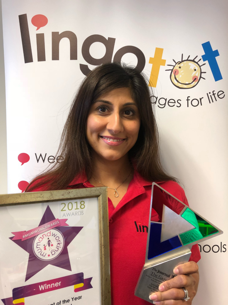 Priya Purryag runs Lingotot Southgate