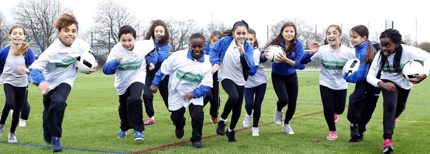Launch of a 3G football pitch in Enfield