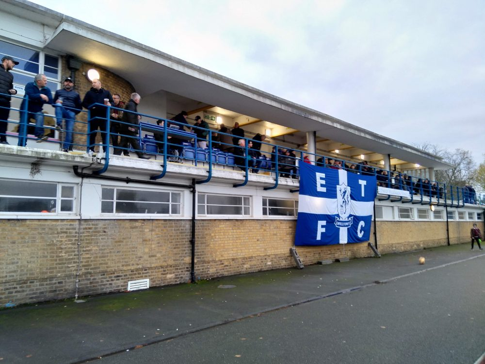 Queen Elizabeth II Stadium, home of Enfield Town FC