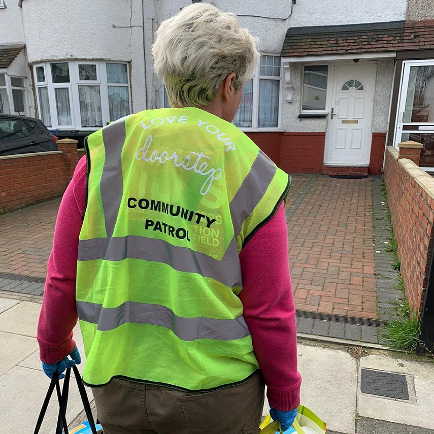 Love Your Doorstep is organising community deliveries