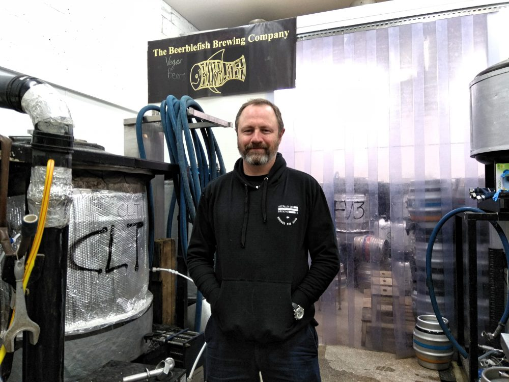 Glenn Heinzel is manager of Beerblefish Brewing Company in Edmonton