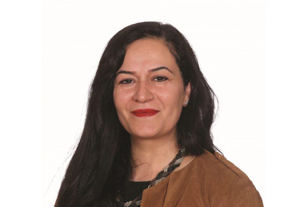 Councillor Saray Karakus was elected in 2018