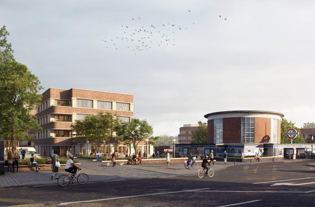 How the Arnos Grove car park development would look if built