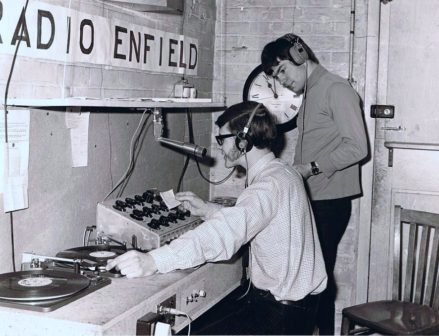Royal Free Radio began life as 'Radio Enfield' in May 1970