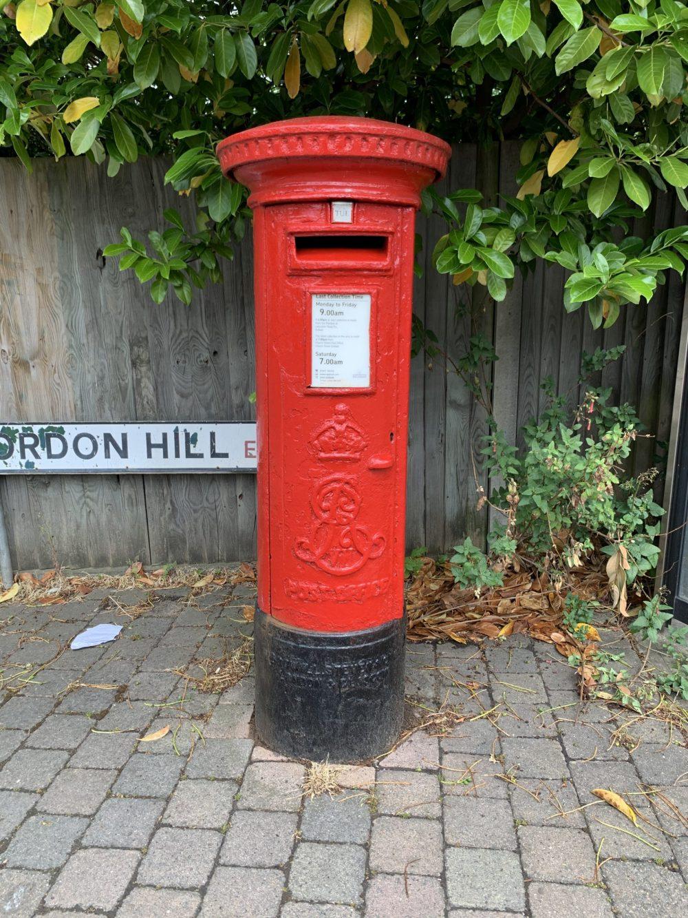 Edward VII postbox in Gordon Hill (credit Jack Gordon)