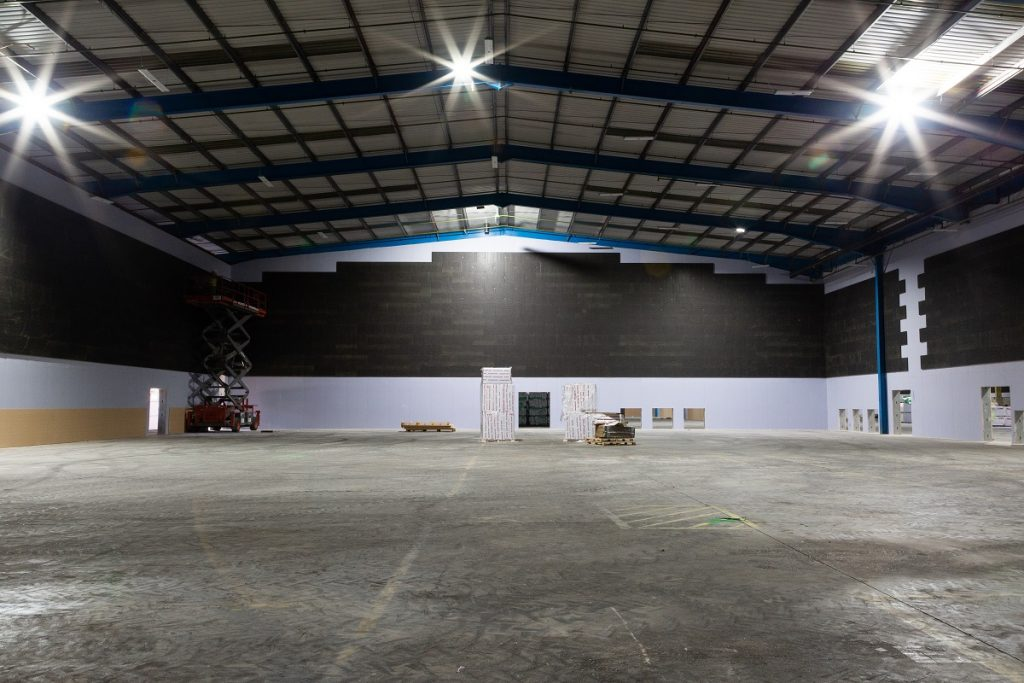 OMA Film Studios in Enfield Lock is the size of two football pitches
