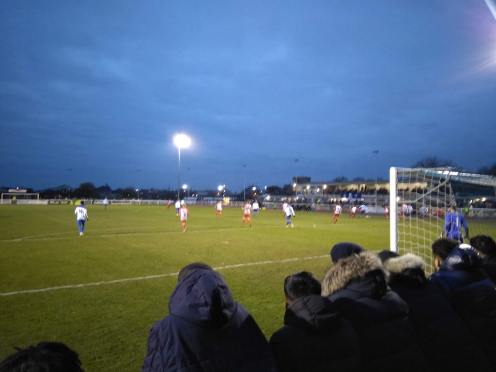 A game at Enfield Town FC