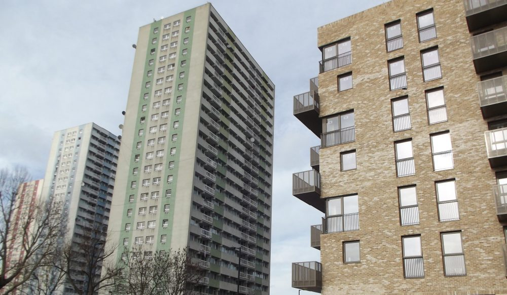 Redevelopment at Alma Estate in Ponders End