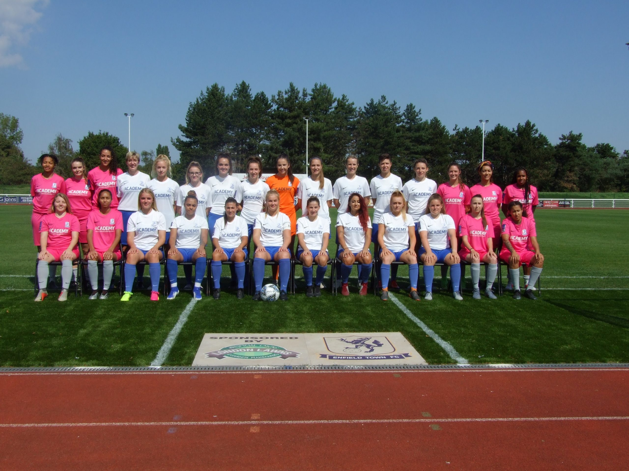 Enfield Town Ladies FC is one of the oldest women's football clubs in the country