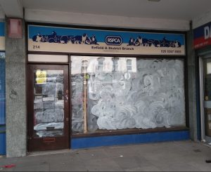 This RSPCA charity shop in Baker Street has permanently closed