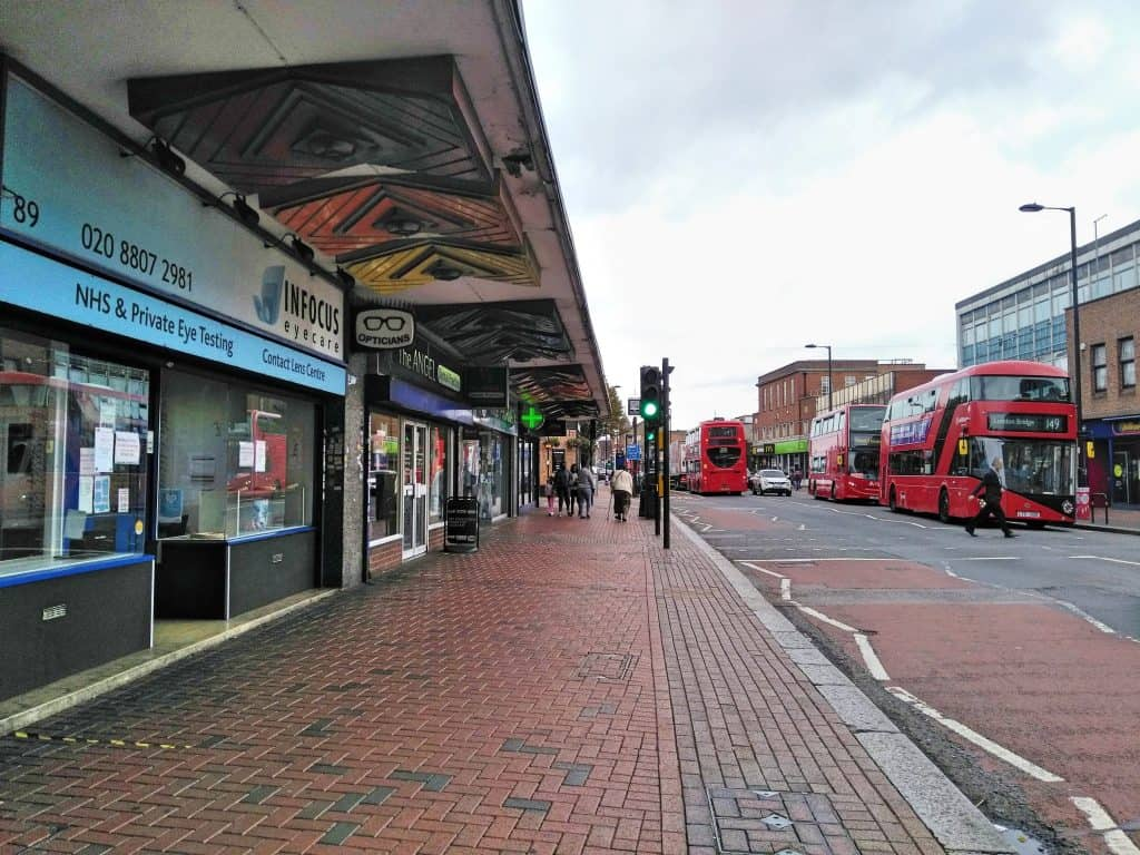 Fore Street in Angel Edmonton is set to undergo a major transformation