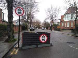 Fox Lane low-traffic neighbourhood