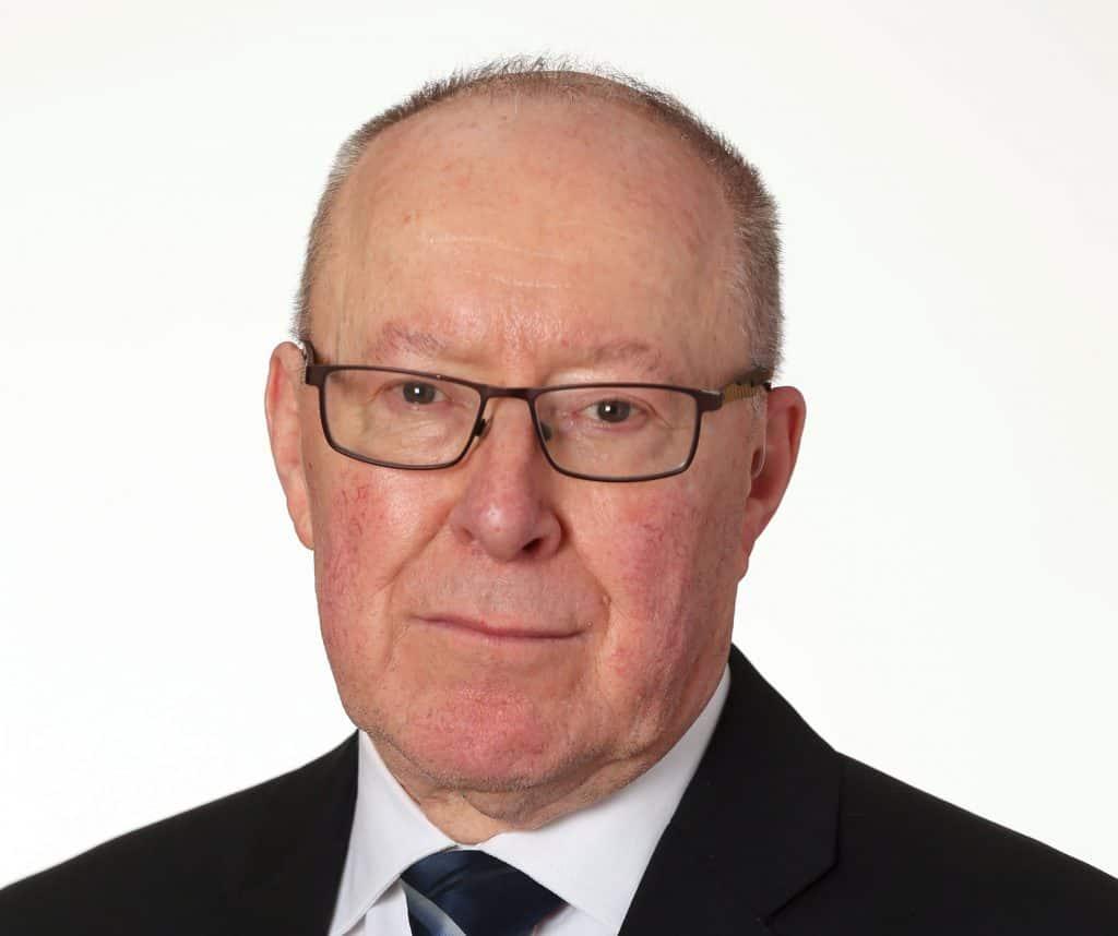 Grange ward councillor Terry Neville