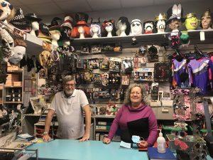 Michael Blake and Jennie Law at Trimbles in Windmill Hill