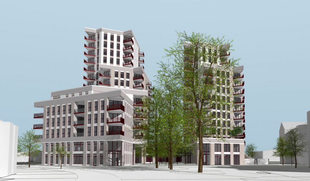How the development in Green Street is set to look once complete