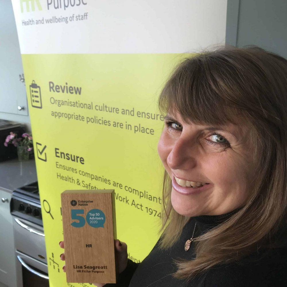 Lisa Seagroatt, founder of HR Fit for Purpose