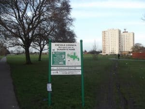 Durants Park in Enfield Highway