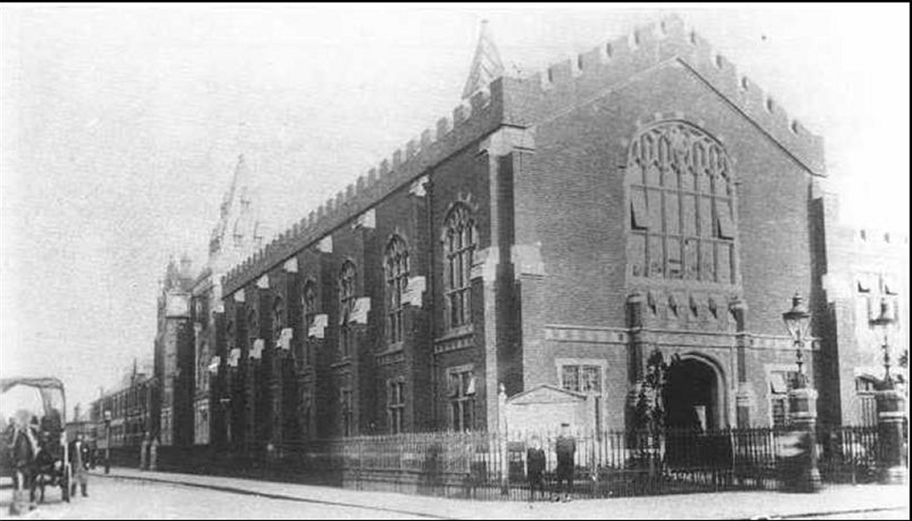 Edmonton Town Hall stood for more than a century before being knocked down and replaced by an Asda supermarket