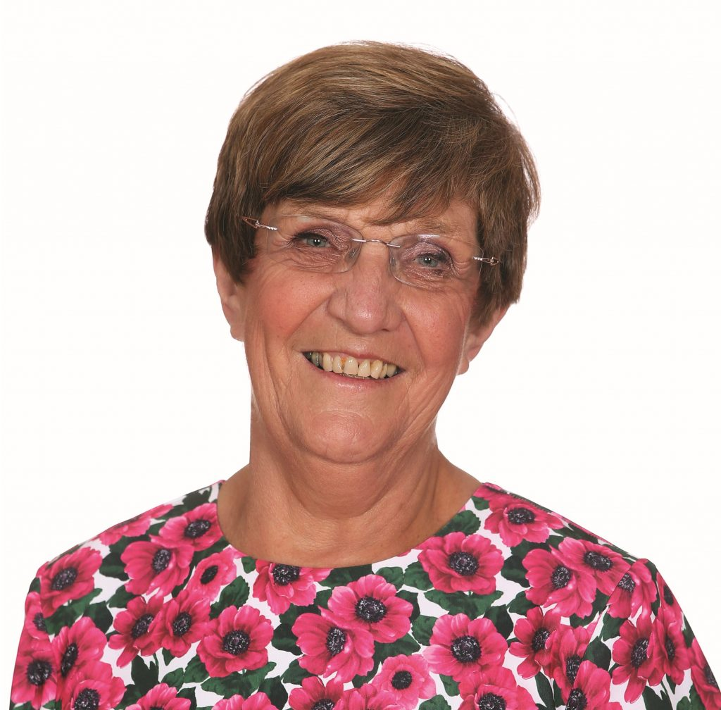 Glynis Vince was elected to represent Highlands ward in 2014, having previously represented Grange since 1994