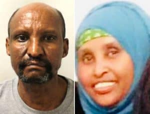 Hussein Yusuf Egal, left, murdered his wife Maryan Ismail, right, in their Edmonton flat